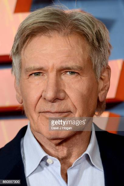 Harrison Ford attends the 'Blade Runner 2049' photocall at The Corinthia Hotel on September 21 2017 in London England