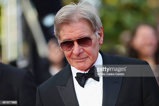Harrison Ford attends 'The Expendables 3' premiere during the 67th Annual Cannes Film Festival on May 18 2014 in Cannes France