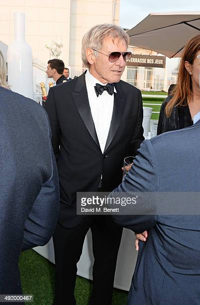 Harrison Ford attends 'The Expendables 3' private dinner and party at Gotha Night Club at Palm Beach on May 18 2014 in Cannes France