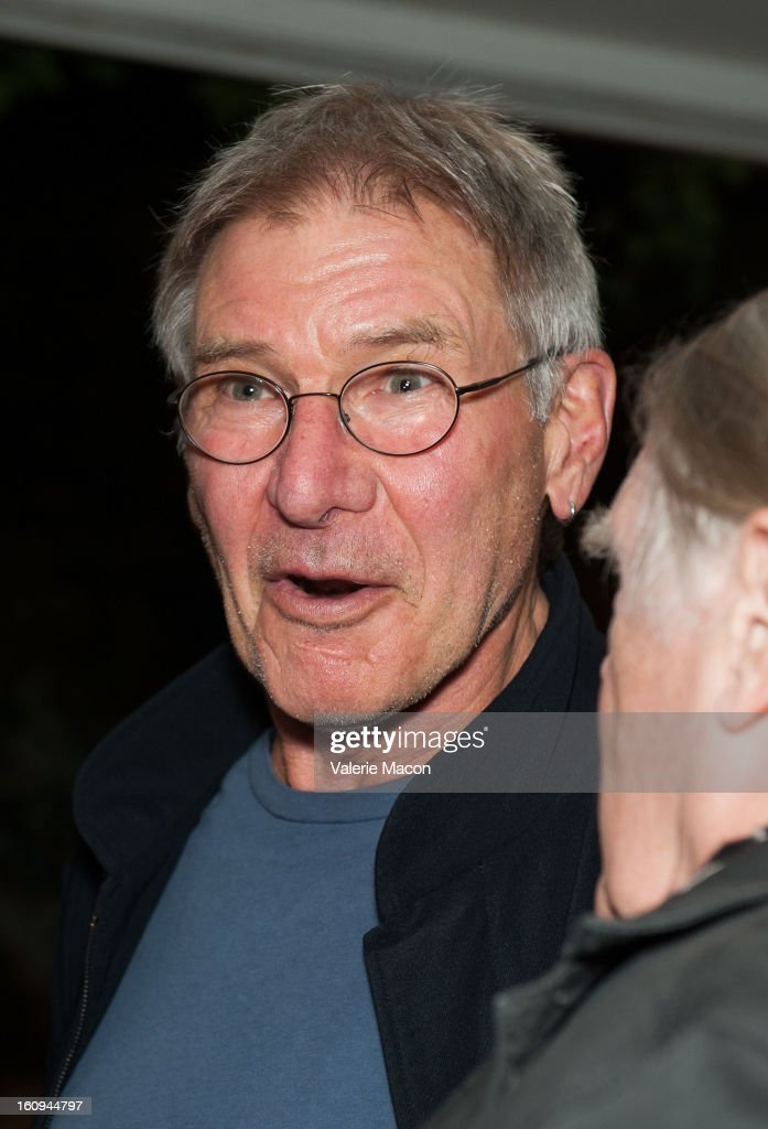<a gi-track='captionPersonalityLinkClicked' href=/galleries/search?phrase=Harrison+Ford+-+Actor+-+Born+1942&family=editorial&specificpeople=11508906 ng-click='$event.stopPropagation()'>Harrison Ford</a> attends The Morrison Hotel Gallery Opens At The Sunset Marquis In West Hollywood on February 7, 2013 in West Hollywood, California.