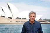 Harrison Ford poses for a portrait at the Park Hyatt on December 9 2015 in Sydney Australia