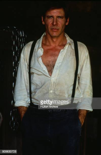 Harrison Ford poses for the Paramount Pictures movie 'Witness' circa 1985