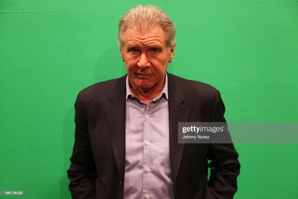 Harrison Ford visits BET's 106 & Park at BET Studios on April 8, 2013 in New York City.
