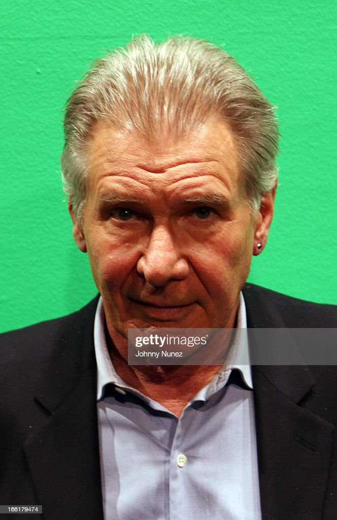 Harrison Ford visits BET's 106 & Park at BET Studios on April 8, 2013, in New York City.