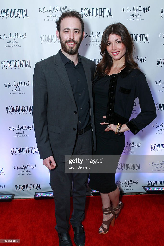 Harrison Gale and Ariel Gale attended the Los Angeles Confidential Grammy Weekend Kickoff Party at Beverly Hills Hotel on February 5, 2015 in Beverly Hills, California.