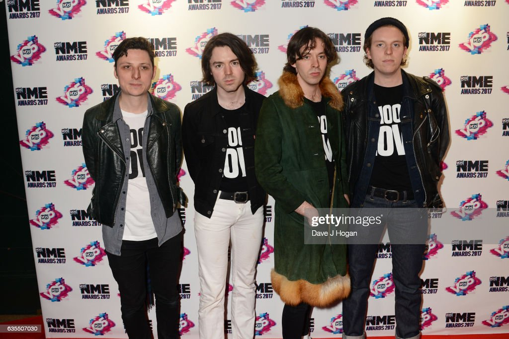 VO5 NME Awards 2017 - VIP Arrivals