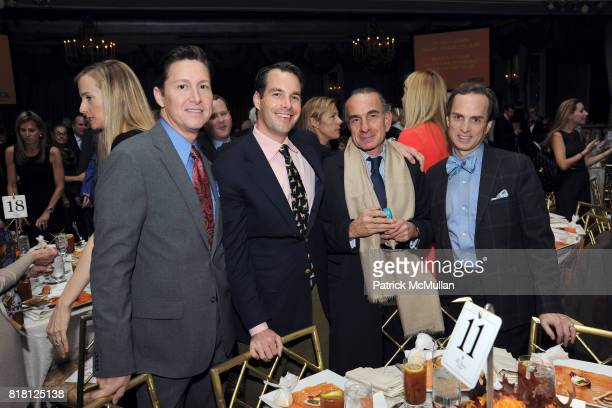 Harrison Morgan Christopher Stittmiller Robert Ruffino and Guy Clark attend 2010 ASPCA Humane Awards Luncheon Sponsored by Hartville Group at The...