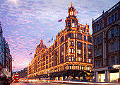 Harrods Department Store, Knightsbridge, London