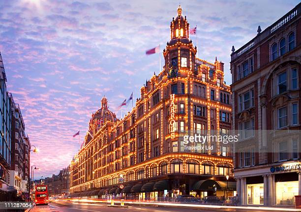 Harrods Department Store, Knightsbridge, London