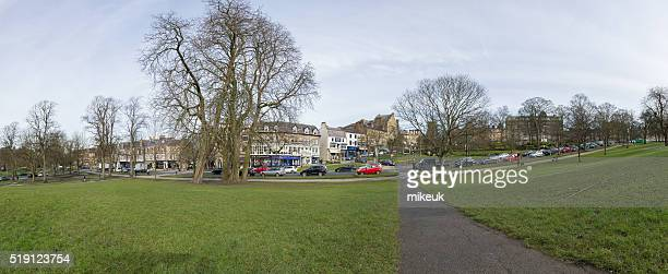 Harrogate Yorkshire England Uk city spring scene panorama