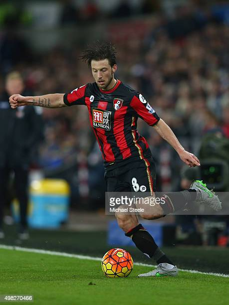 Harry Arter of Bournemouth during the Barclays Premier League match between Swansea City and Bournemouth at the Liberty Stadium on November 21 2015...