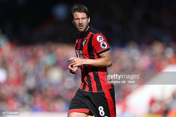 Harry Arter of Bournemouth during the Premier League match between AFC Bournemouth and Tottenham Hotspur at Vitality Stadium on October 22 2016 in...