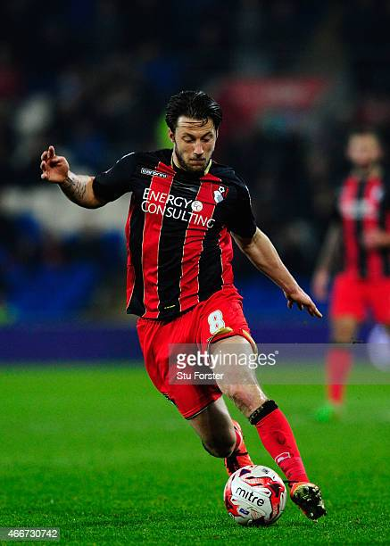 Harry Arter of Bournemouth in action during the Sky Bet Championship match between Cardiff City and AFC Bournemouth at Cardiff City Stadium on March...