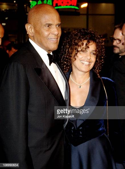 Harry Belafonte and daughter Shari...