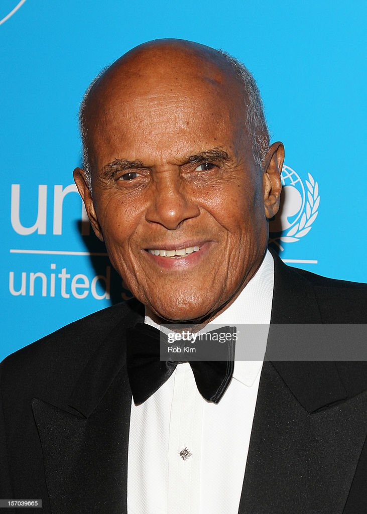 Harry Belafonte attends the 2012 UNICEF Snowflake Ball at Cipriani 42nd Street on November 27, 2012 in New York City.