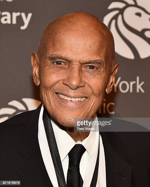 Harry Belafonte attends the 2016 Library Lions Gala at New York Public Library Stephen A Schwartzman Building on November 7 2016 in New York City
