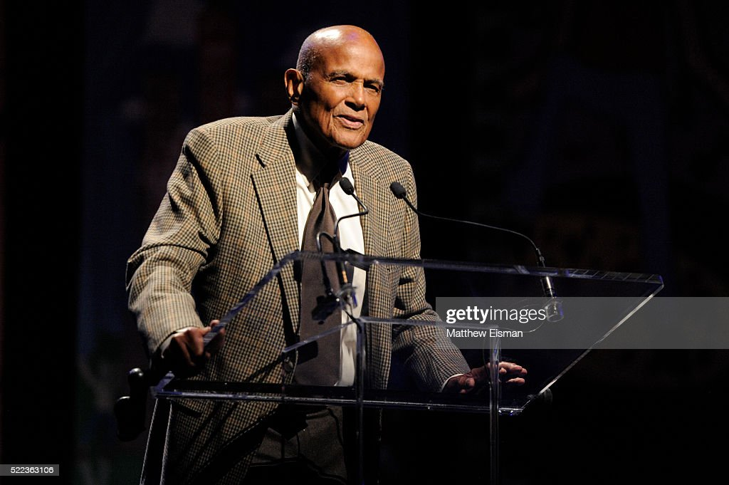 Harry Belafonte attends the National Dance Institute's (NDI) 40th Anniversary Annual Gala at PlayStation Theater on April 18, 2016 in New York City.