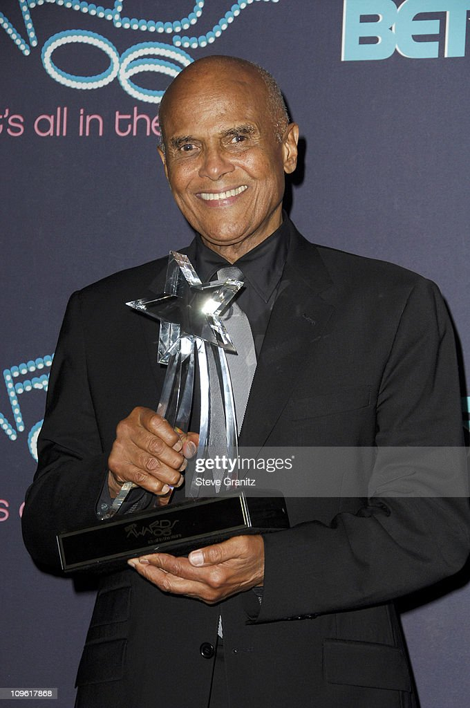 <a gi-track='captionPersonalityLinkClicked' href=/galleries/search?phrase=Harry+Belafonte&family=editorial&specificpeople=204214 ng-click='$event.stopPropagation()'>Harry Belafonte</a>, BET Humanitarian Award recipient during 6th Annual BET Awards - Press Room at Shrine Auditorium in Los Angeles, CA, United States.