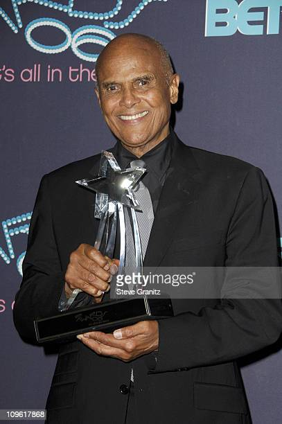 Harry Belafonte BET Humanitarian Award recipient during 6th Annual BET Awards Press Room at Shrine Auditorium in Los Angeles CA United States