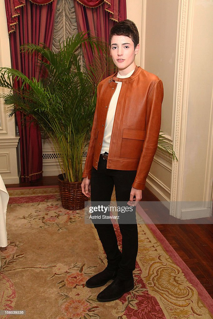 Harry Brant attends Derek Blasberg For Opening Ceremony Stationery Launch Party at Saint Regis Hotel on December 18, 2012 in New York City.