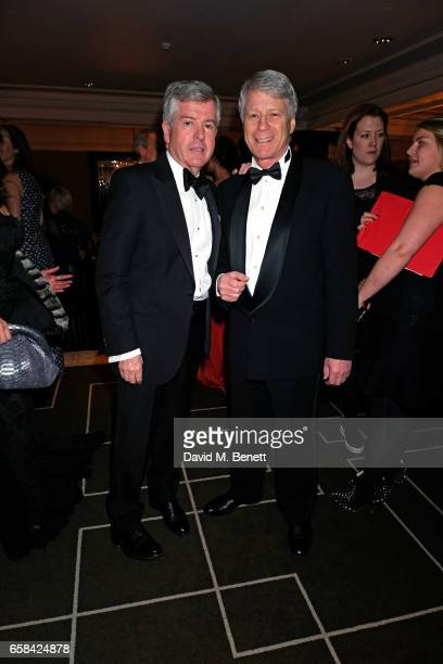 Harry Brunjes and Nick Ross attend the English National Opera Spring Gala 2017 at Rosewood London on March 27 2017 in London England