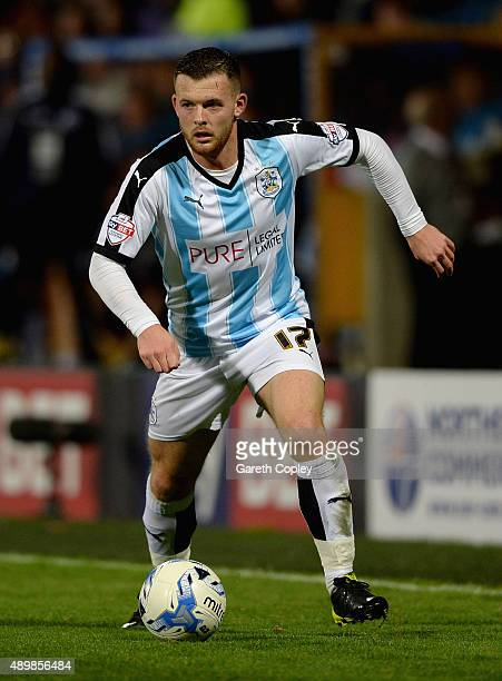 Harry Bunn of Huddersfield Town during the Sky Bet Championship match between Huddersfield Town and Nottingham Forest at John Smiths Stadium on...