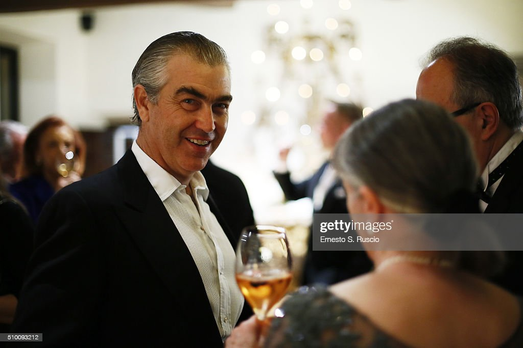 Harry Charles Scio attends Roberto Scio' birthday Party at La Posta Vecchia on February 13, 2016 in Paolo Laziale, near Rome, Italy.