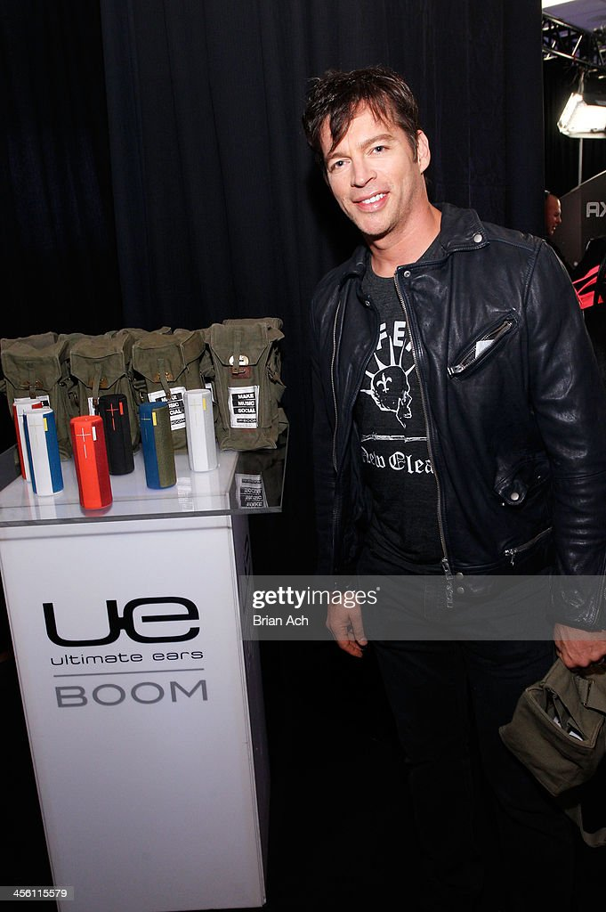 Harry Connick, Jr. attends the Z100's Artist Gift Lounge presented by AXE at Z100's Jingle Ball 2013 at Madison Square Garden on December 13, 2013 in New York City.