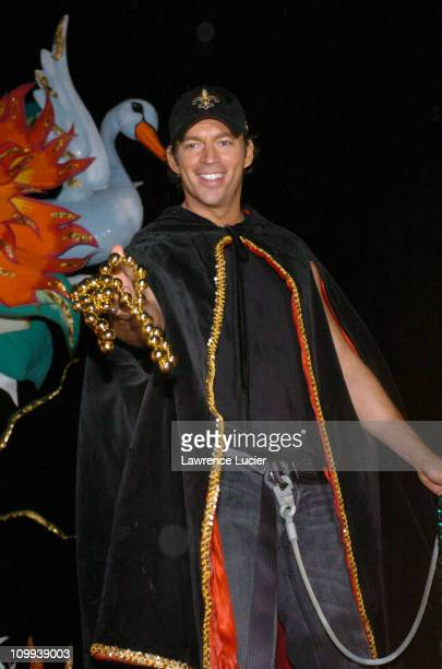 Harry Connick Jr during Harry Connick Jr Leads the Orpheus Parade at Mardi Gras at New Orleans in New Orleans Louisiana United States