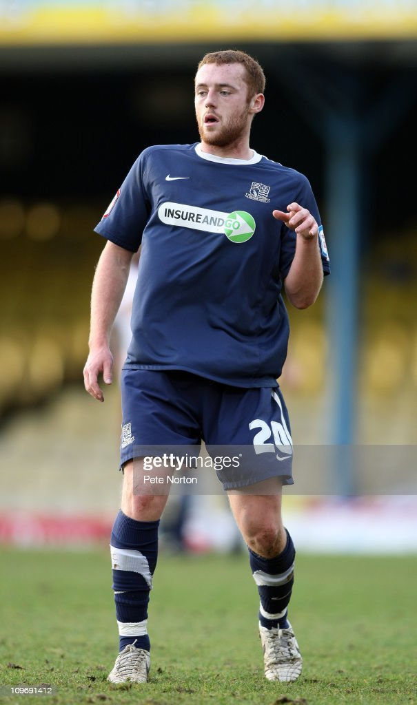 Harry Crawford of Southend United in action during the npower League Two match between Southend United and Northampton Town at Roots Hall on February 26, 2011 in Southend, England.