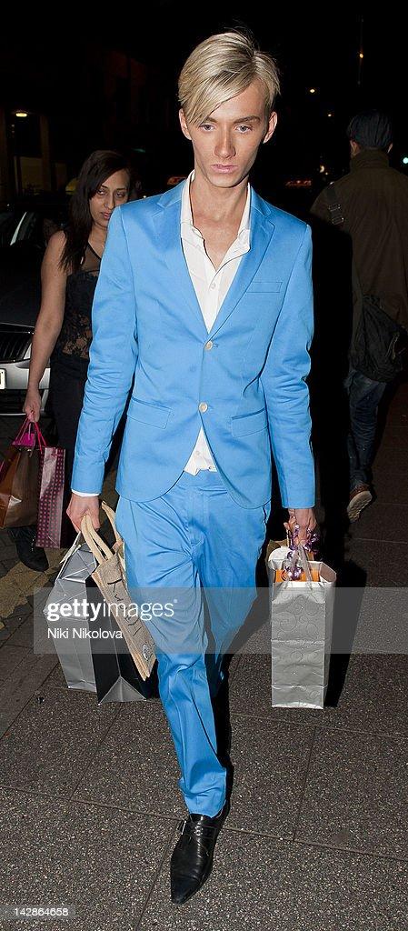Harry Derbidge sighting on April 13, 2012 in London, England.