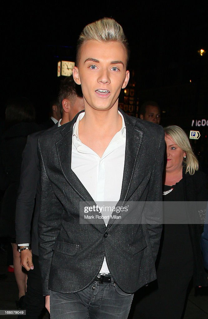 Harry Derbridge at the May Fair hotel on May 11, 2013 in London, England.