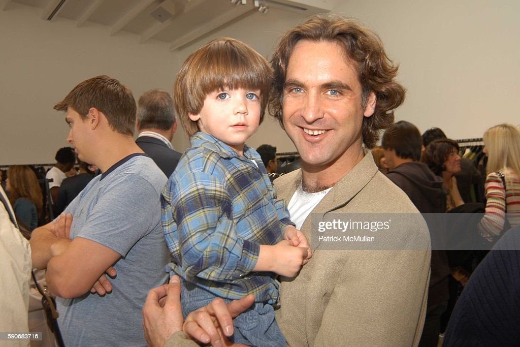 Harry Early and Peter Early attend John Varvatos' 3rd Annual Stuart House Charity Benefit at John Varvatos Boutique on March 5 2005 in West Hollywood...
