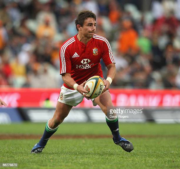 Harry Ellis of the Lions runs with the ball during the match between the Cheetahs and the British and Irish Lions on their 2009 tour of South Africa...