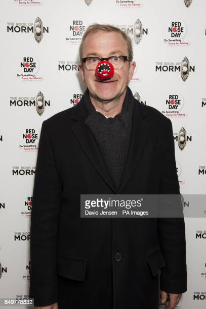 Harry Enfield attends The Book of Mormon Red Nose Day Gala at the Prince of Wales Theatre in London