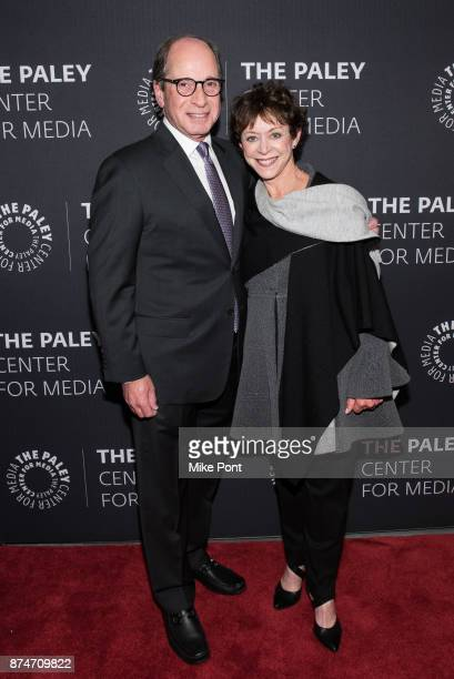 Harry Friedman and Judy Friedman attend The Paley Center For Media Presents Wheel Of Fortune 35 Years As America's Game at The Paley Center for Media...