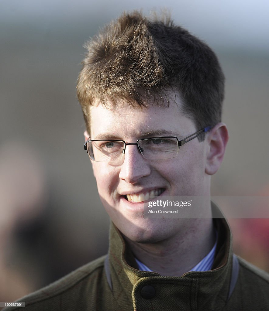 Harry Fry poses at Doncaster racecourse on February 04, 2013 in Doncaster, England.