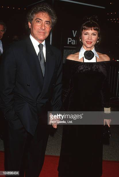 Harry Glassman and Victoria Principal during 'Sunset Boulevard' Los Angeles Premiere at Shubert Theatre Century Plaza Hotel in Century City...