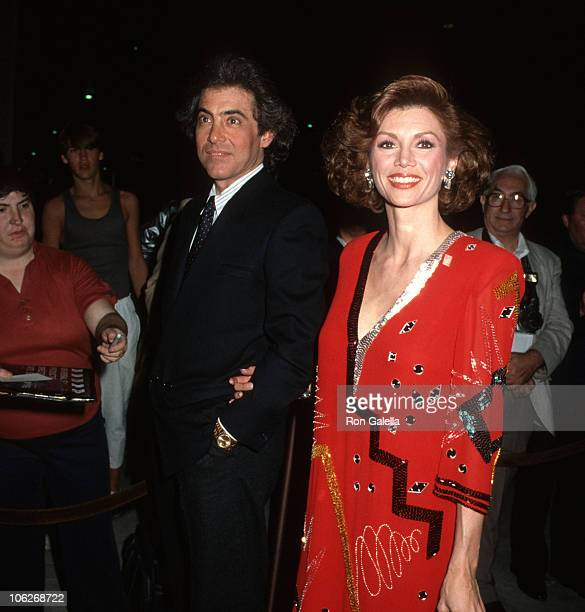 Harry Glassman and Victoria Principal during Time Covers Hollywood 19231985 February 14 1985 at Samuel Goldwyn Theater in Beverly Hills California...