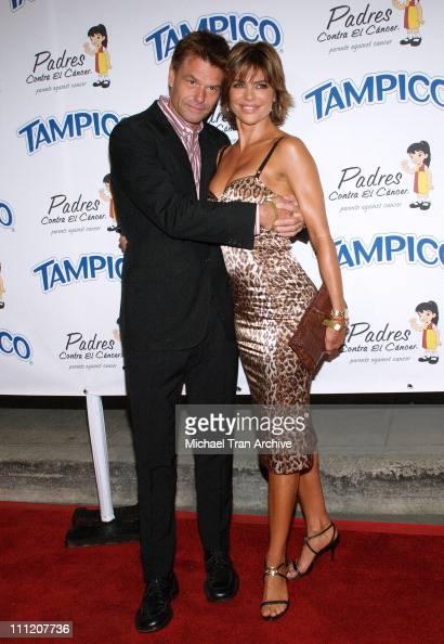 Harry Hamlin and Lisa Rinna during Tampico Beverages Presents 'El Sueno de Esperanza' Gala to Benefit The PADRES Foundation Arrivals at Desperate...