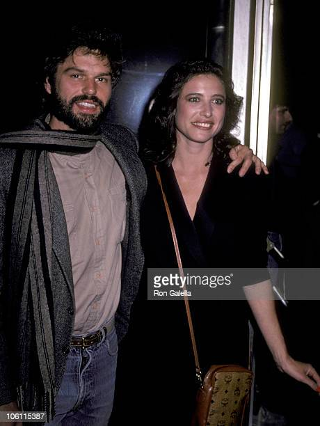 Harry Hamlin and Mimi Rogers during 'Blue Skies Again' Screening at Directors Guild Theater in Hollywood California United States