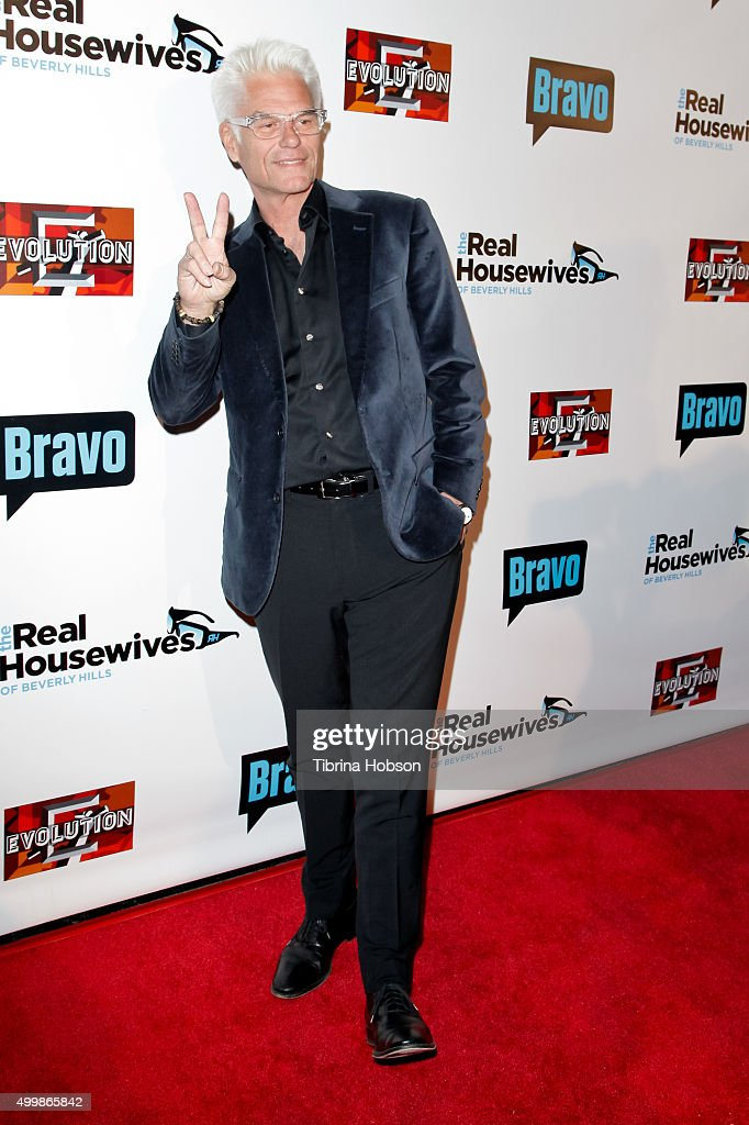 Harry Hamlin attends the premiere party for Bravo's 'The Real Housewives Of Beverly Hills' season 6 at W Hollywood on December 3 2015 in Hollywood...