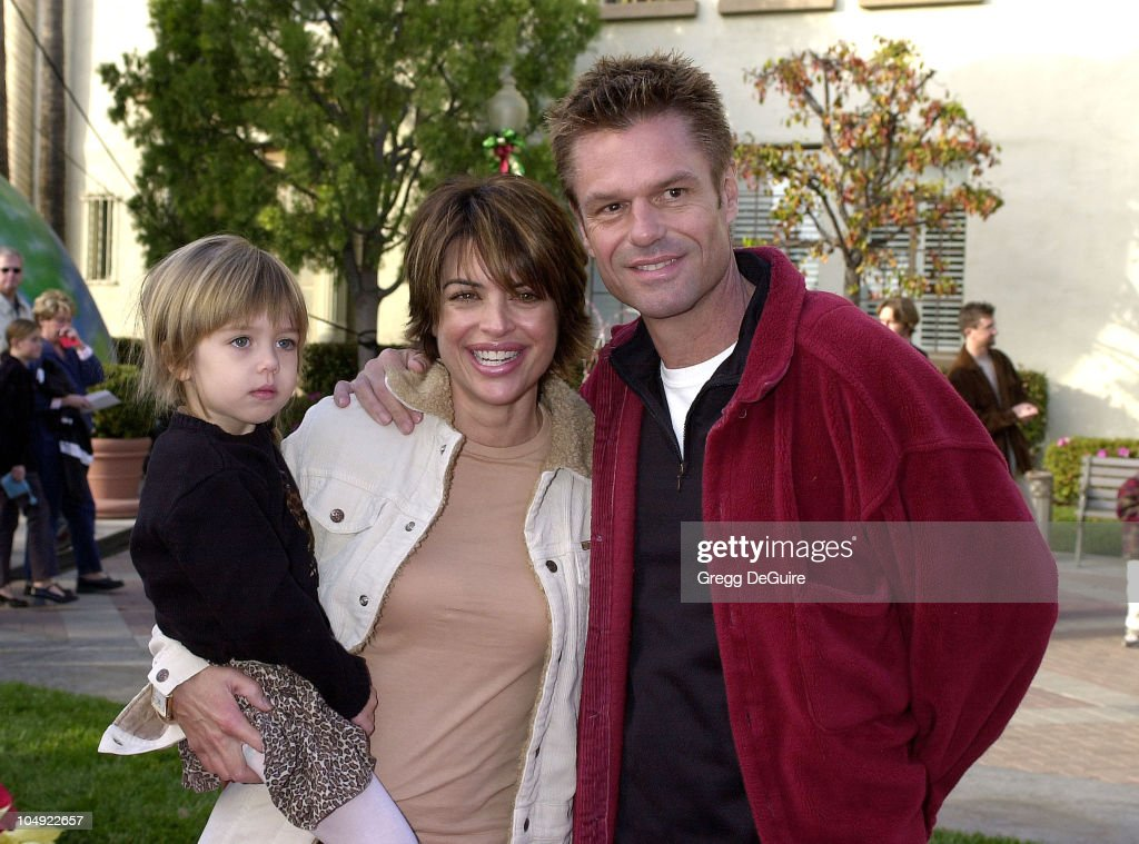 Harry Hamlin, Lisa Rinna and daughter Delilah during 'Jimmy Neutron: Boy Genius' Los Angeles Premiere at Paramount Studios in Los Angeles, California, United States.