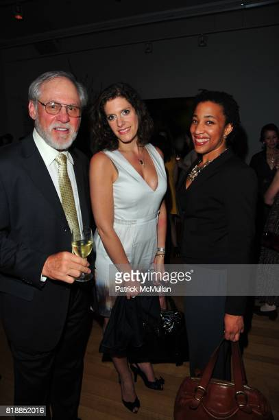 Harry Hersh Cerrie Bamford and Hallie Hobson attend In the Studio A Celebration of the Young Arts Gold and Silver Winners at Baryshnikov Arts Center...