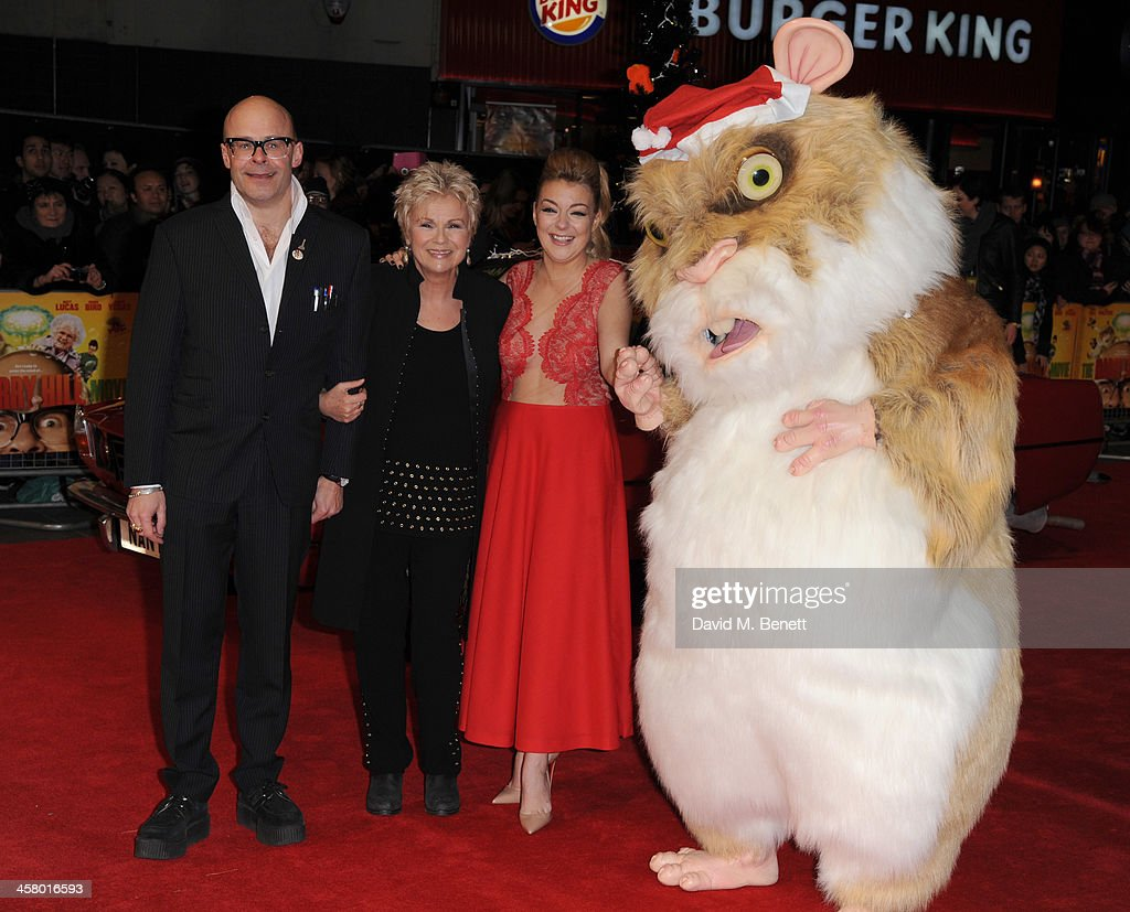 <a gi-track='captionPersonalityLinkClicked' href=/galleries/search?phrase=Harry+Hill&family=editorial&specificpeople=228845 ng-click='$event.stopPropagation()'>Harry Hill</a>, Julia Walters and <a gi-track='captionPersonalityLinkClicked' href=/galleries/search?phrase=Sheridan+Smith&family=editorial&specificpeople=4159304 ng-click='$event.stopPropagation()'>Sheridan Smith</a> attends 'The <a gi-track='captionPersonalityLinkClicked' href=/galleries/search?phrase=Harry+Hill&family=editorial&specificpeople=228845 ng-click='$event.stopPropagation()'>Harry Hill</a> Movie' World Premiere at Vue Leicester Square on December 19, 2013 in London, England.