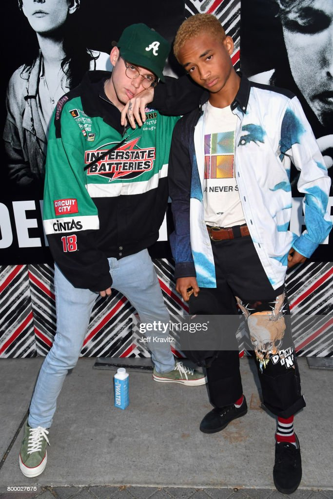 Harry Hudson and Jaden Smith attend HBO's 'The Defiant Ones' premiere at Paramount Studios on June 22, 2017 in Los Angeles, California.