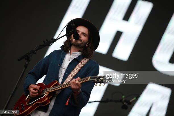 01 Harry Hudson Taylor of Hudson Taylor performs at Electric Picnic Festival at Stradbally Hall Estate on September 1 2017 in Laois Ireland