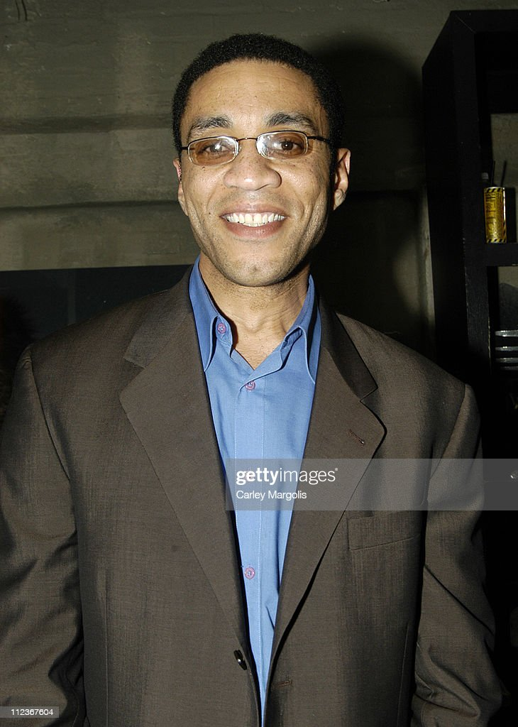 Harry J Lennix during Celebrities in Town for UpFronts Attend Bunny Chow Tuesdays at Cain May 17 2005 at Cain in New York City New York United States