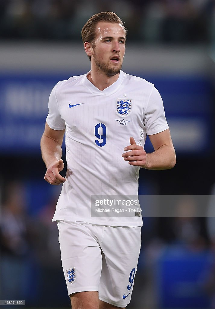 Harry Kane of England in action during the international friendly match beteween Italy and England on March 31 2015 in Turin Italy
