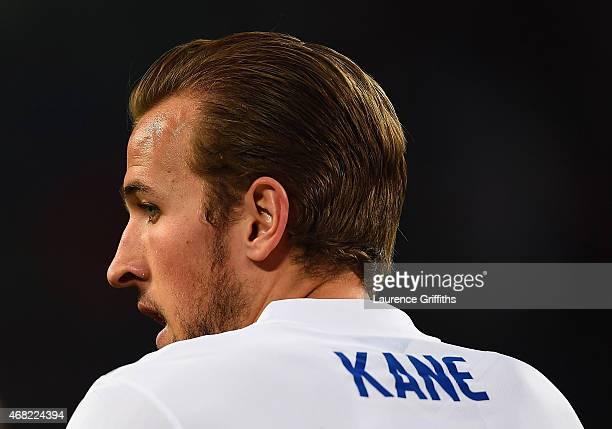 Harry Kane of England looks on during the international friendly match between Italy and England at the Juventus Arena on March 31 2015 in Turin Italy